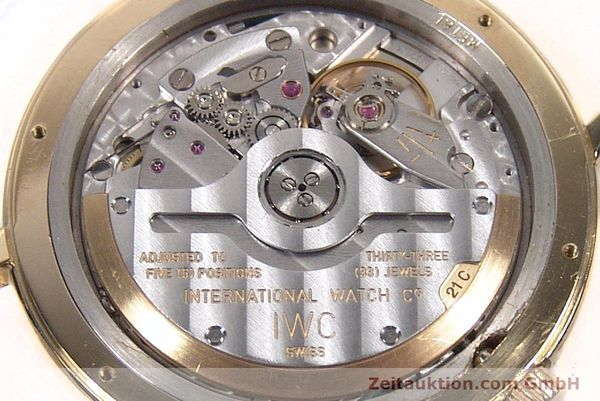 montre de luxe d occasion IWC Portofino or 18 ct automatique Kal. 889/1 Ref. 3209  | 142777 09