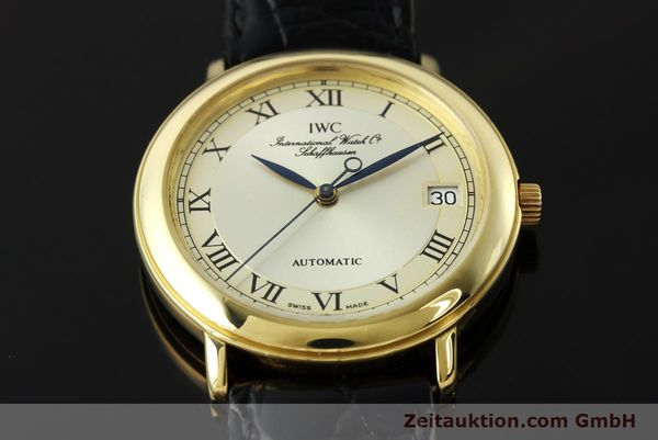 montre de luxe d occasion IWC Portofino or 18 ct automatique Kal. 889/1 Ref. 3209  | 142777 13