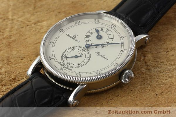 Used luxury watch Chronoswiss Regulateur steel automatic Kal. C 122 Ref. CH1223  | 142778 01