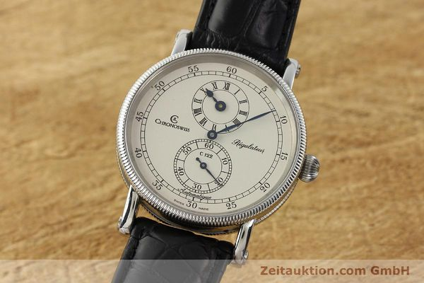 Used luxury watch Chronoswiss Regulateur steel automatic Kal. C 122 Ref. CH1223  | 142778 04