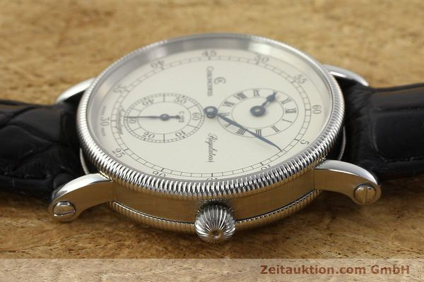 Used luxury watch Chronoswiss Regulateur steel automatic Kal. C 122 Ref. CH1223  | 142778 05