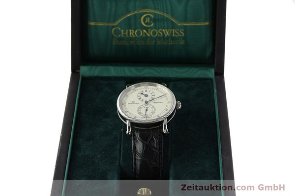 Used luxury watch Chronoswiss Regulateur steel automatic Kal. C 122 Ref. CH1223  | 142778 07