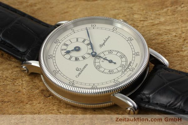 Used luxury watch Chronoswiss Regulateur steel automatic Kal. C 122 Ref. CH1223  | 142778 15