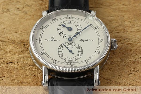 Used luxury watch Chronoswiss Regulateur steel automatic Kal. C 122 Ref. CH1223  | 142778 16