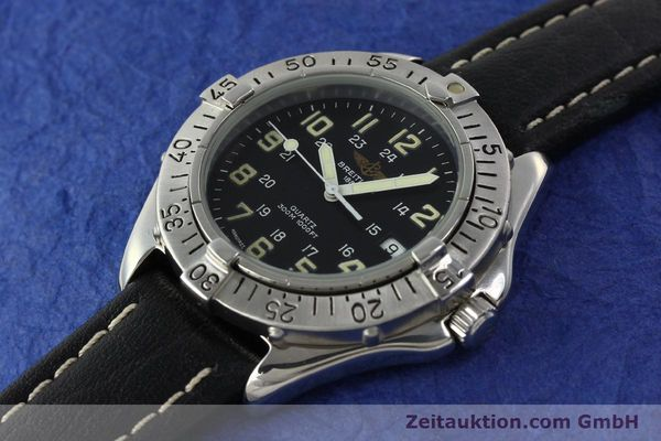 Used luxury watch Breitling Colt steel quartz Kal. B57 ETA 955412 Ref. A57035  | 142781 01