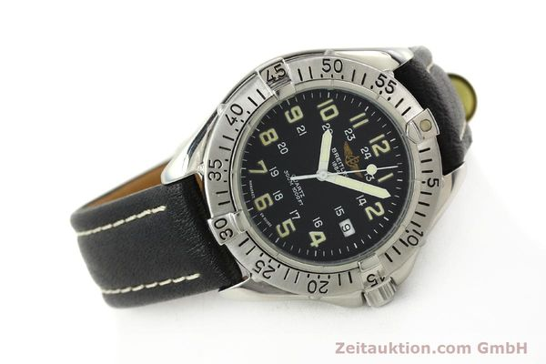Used luxury watch Breitling Colt steel quartz Kal. B57 ETA 955412 Ref. A57035  | 142781 03