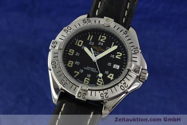 Used luxury watch Breitling Colt steel quartz Kal. B57 ETA 955412 Ref. A57035  | 142781 04