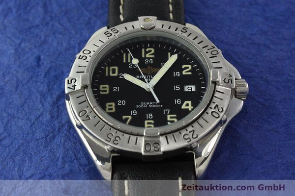 Used luxury watch Breitling Colt steel quartz Kal. B57 ETA 955412 Ref. A57035  | 142781 13