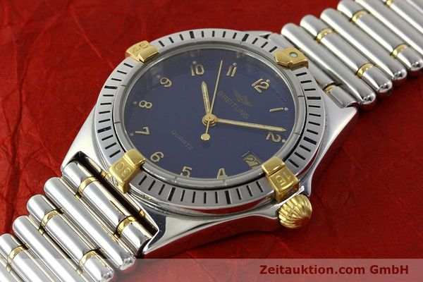 Used luxury watch Breitling Callistino steel / gold quartz Kal. ETA 955412 Ref. 80510  | 142783 01
