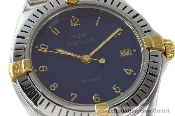 Used luxury watch Breitling Callistino steel / gold quartz Kal. ETA 955412 Ref. 80510  | 142783 02