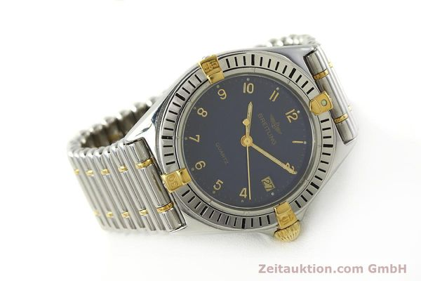 Used luxury watch Breitling Callistino steel / gold quartz Kal. ETA 955412 Ref. 80510  | 142783 03