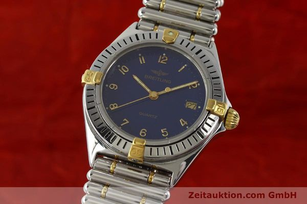 Used luxury watch Breitling Callistino steel / gold quartz Kal. ETA 955412 Ref. 80510  | 142783 04