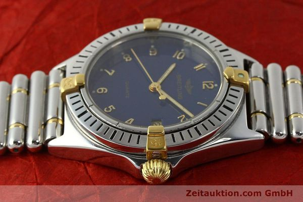 Used luxury watch Breitling Callistino steel / gold quartz Kal. ETA 955412 Ref. 80510  | 142783 05