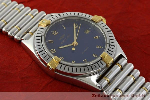 Used luxury watch Breitling Callistino steel / gold quartz Kal. ETA 955412 Ref. 80510  | 142783 12