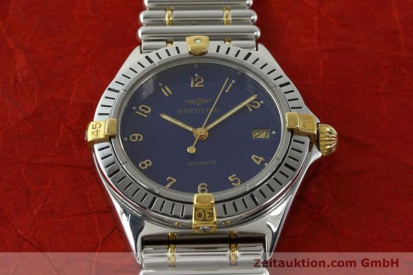 Used luxury watch Breitling Callistino steel / gold quartz Kal. ETA 955412 Ref. 80510  | 142783 13