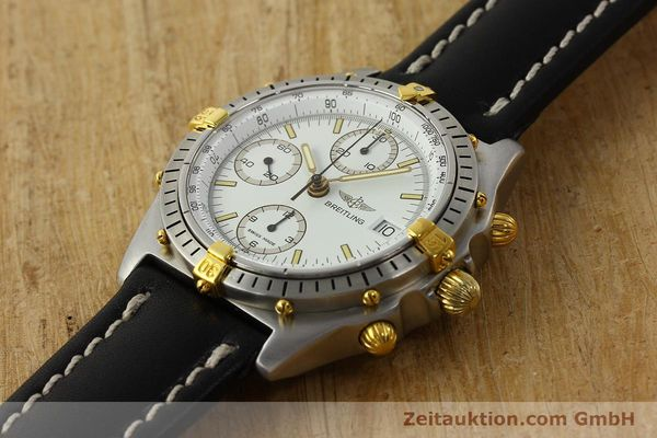 Used luxury watch Breitling Chronomat chronograph steel / gold automatic Kal. B13 VAL 7750 Ref. 81.950B13047  | 142784 01