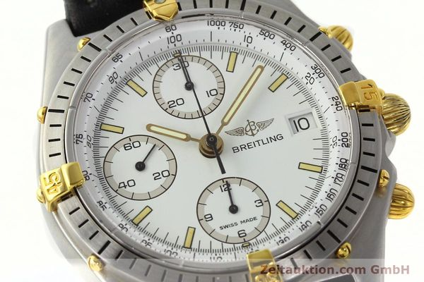 Used luxury watch Breitling Chronomat chronograph steel / gold automatic Kal. B13 VAL 7750 Ref. 81.950B13047  | 142784 02