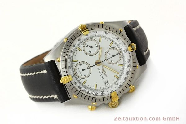 Used luxury watch Breitling Chronomat chronograph steel / gold automatic Kal. B13 VAL 7750 Ref. 81.950B13047  | 142784 03
