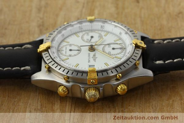 Used luxury watch Breitling Chronomat chronograph steel / gold automatic Kal. B13 VAL 7750 Ref. 81.950B13047  | 142784 05