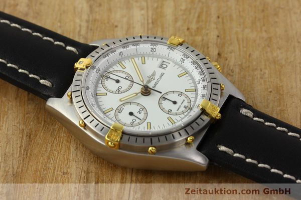 Used luxury watch Breitling Chronomat chronograph steel / gold automatic Kal. B13 VAL 7750 Ref. 81.950B13047  | 142784 14