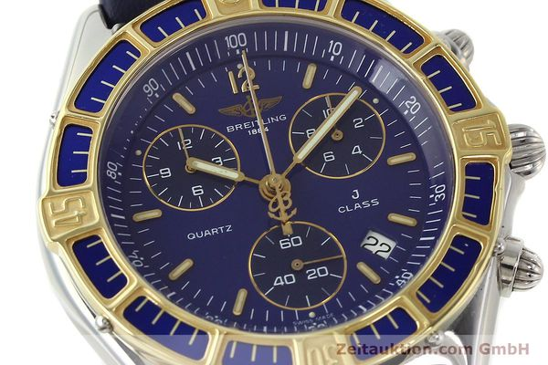 Used luxury watch Breitling J-Class chronograph steel / gold quartz Kal. B53 ETA 251262 Ref. D53067  | 142786 02