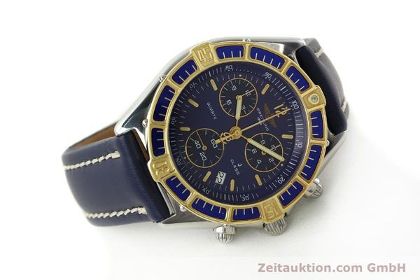 Used luxury watch Breitling J-Class chronograph steel / gold quartz Kal. B53 ETA 251262 Ref. D53067  | 142786 03
