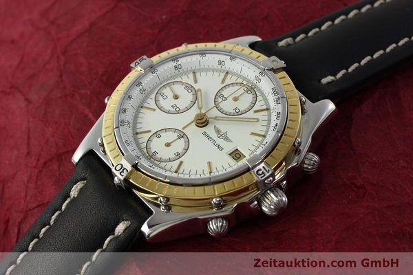 Used luxury watch Breitling Chronomat chronograph steel / gold automatic Kal. VAL 7750 Ref. 81950  | 142787 01