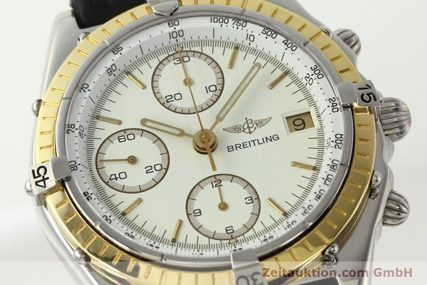 Used luxury watch Breitling Chronomat chronograph steel / gold automatic Kal. VAL 7750 Ref. 81950  | 142787 02