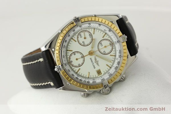 Used luxury watch Breitling Chronomat chronograph steel / gold automatic Kal. VAL 7750 Ref. 81950  | 142787 03