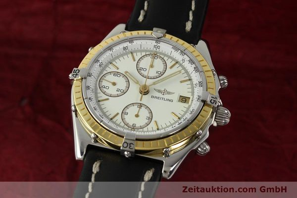 Used luxury watch Breitling Chronomat chronograph steel / gold automatic Kal. VAL 7750 Ref. 81950  | 142787 04