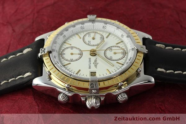 Used luxury watch Breitling Chronomat chronograph steel / gold automatic Kal. VAL 7750 Ref. 81950  | 142787 05