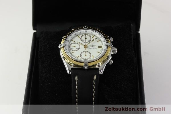 Used luxury watch Breitling Chronomat chronograph steel / gold automatic Kal. VAL 7750 Ref. 81950  | 142787 07