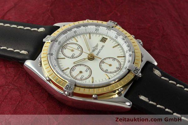 Used luxury watch Breitling Chronomat chronograph steel / gold automatic Kal. VAL 7750 Ref. 81950  | 142787 14