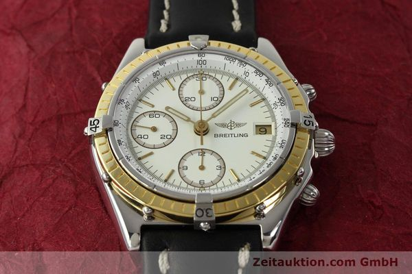 Used luxury watch Breitling Chronomat chronograph steel / gold automatic Kal. VAL 7750 Ref. 81950  | 142787 15