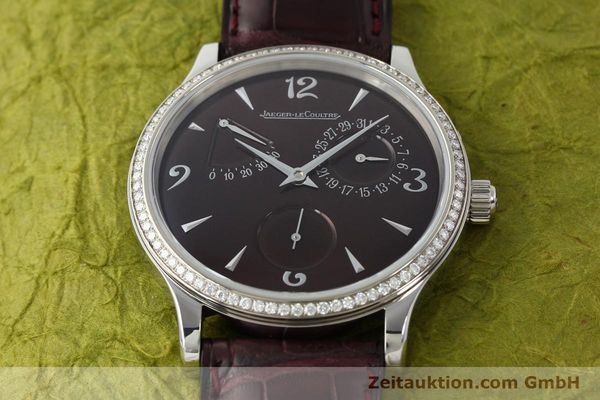 Used luxury watch Jaeger Le Coultre Master Control steel automatic Kal. 928/2 Ref. 140.8.93.S  | 142793 17