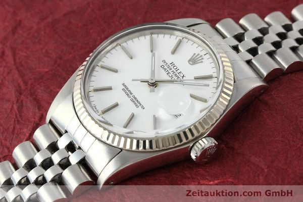 Used luxury watch Rolex Datejust steel / white gold automatic Kal. 3035 Ref. 16014  | 142794 01
