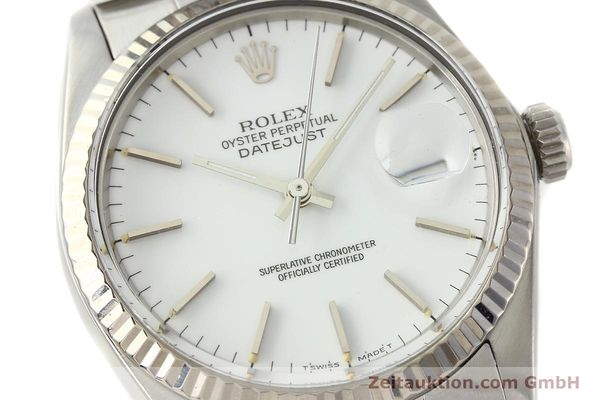 Used luxury watch Rolex Datejust steel / white gold automatic Kal. 3035 Ref. 16014  | 142794 02