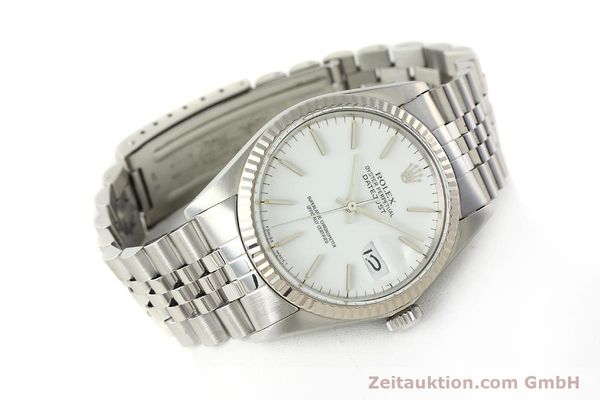 Used luxury watch Rolex Datejust steel / white gold automatic Kal. 3035 Ref. 16014  | 142794 03