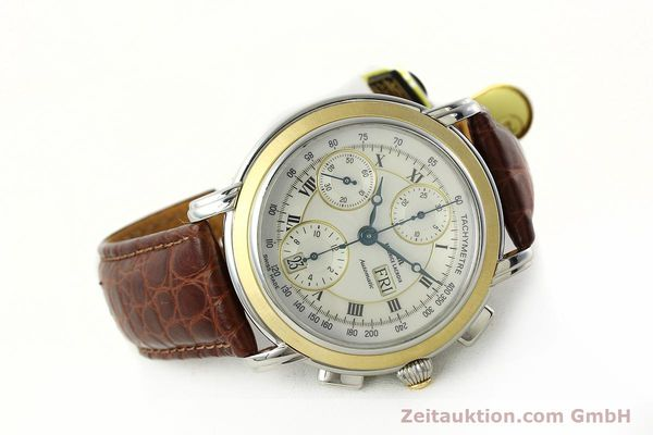 Used luxury watch Maurice Lacroix Masterpiece chronograph steel / gold automatic Kal. ML 67 ETA 7750 Ref. MP6313  | 142797 03