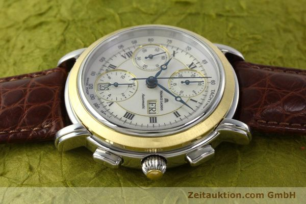 Used luxury watch Maurice Lacroix Masterpiece chronograph steel / gold automatic Kal. ML 67 ETA 7750 Ref. MP6313  | 142797 05