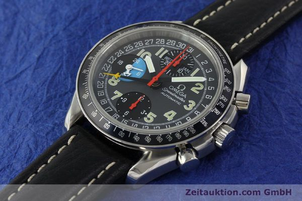 Used luxury watch Omega Speedmaster chronograph steel automatic Kal. 1151  | 142798 01