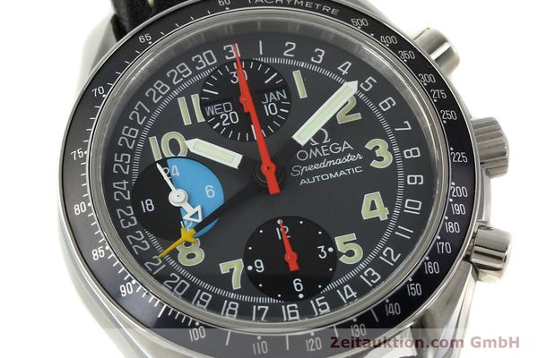 Used luxury watch Omega Speedmaster chronograph steel automatic Kal. 1151  | 142798 02