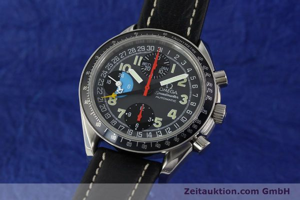 Used luxury watch Omega Speedmaster chronograph steel automatic Kal. 1151  | 142798 04