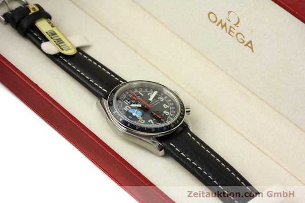 Used luxury watch Omega Speedmaster chronograph steel automatic Kal. 1151  | 142798 07