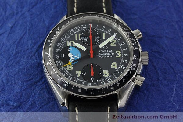 Used luxury watch Omega Speedmaster chronograph steel automatic Kal. 1151  | 142798 17