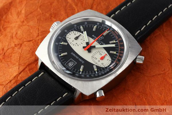 gebrauchte Luxusuhr Breitling Chrono-Matic Chronograph Stahl Automatik Kal. 11 Ref. 2111  | 142799 01