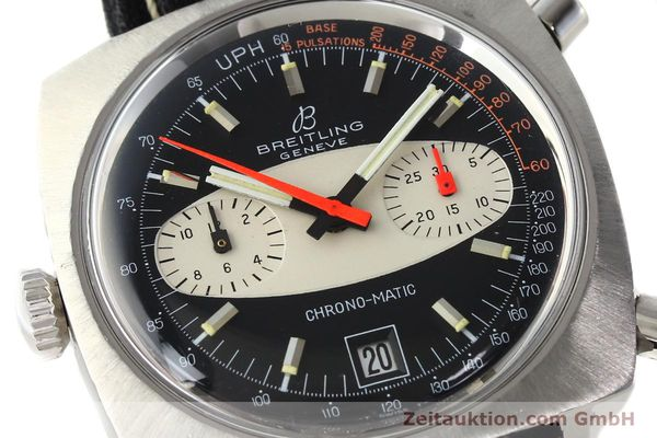gebrauchte Luxusuhr Breitling Chrono-Matic Chronograph Stahl Automatik Kal. 11 Ref. 2111  | 142799 02