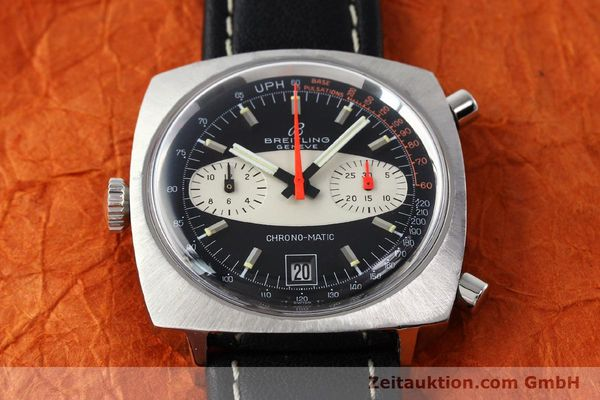 gebrauchte Luxusuhr Breitling Chrono-Matic Chronograph Stahl Automatik Kal. 11 Ref. 2111  | 142799 14