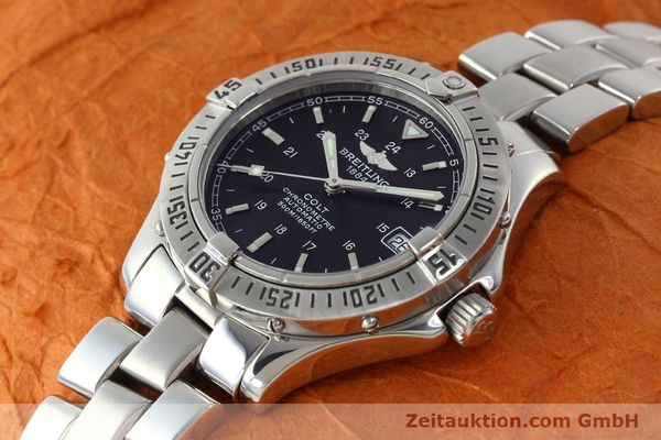 Used luxury watch Breitling Colt steel automatic Kal. B17 ETA 2824-2 Ref. A17350  | 142802 01