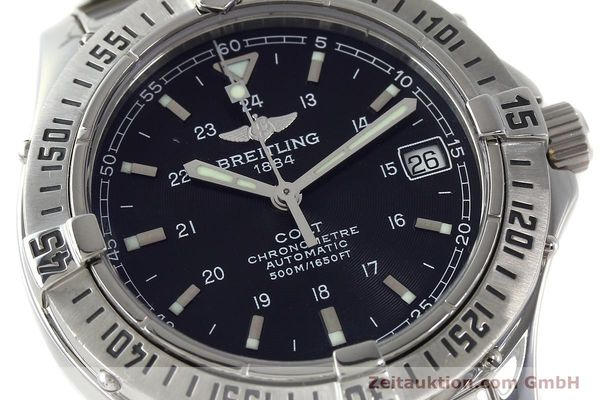 Used luxury watch Breitling Colt steel automatic Kal. B17 ETA 2824-2 Ref. A17350  | 142802 02
